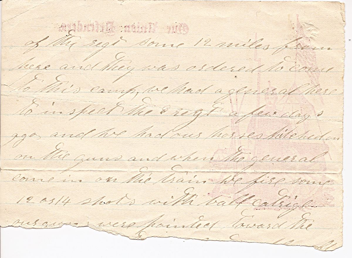 Small Family  Perry Civil War Letters  Hale Perry